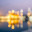 The Golden Temple in Amritsar out of focus