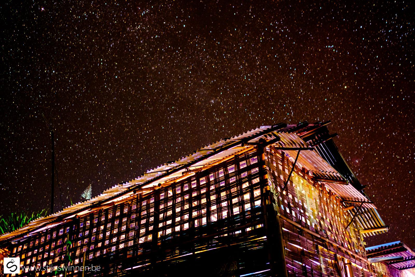 Skies of stars in Shan Village
