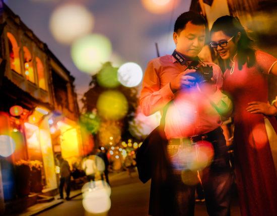 Evening lights in Hoi An